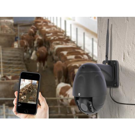Caméra de surveillance élevage IPCAM 360° Full HD