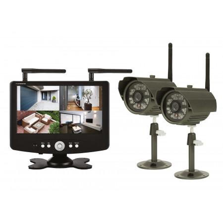 """Kit 2 caméras + écran 7"""""""