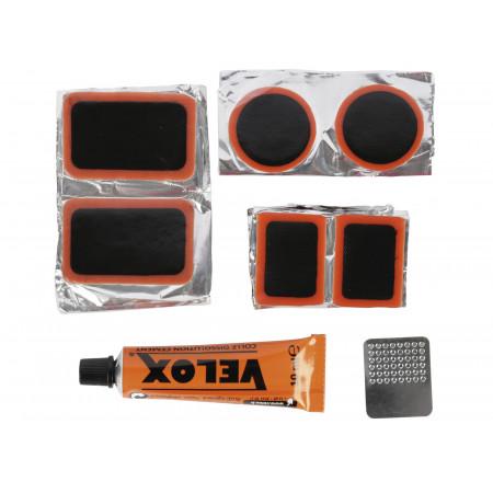 Kit de réparation chambre à air 10 pièces
