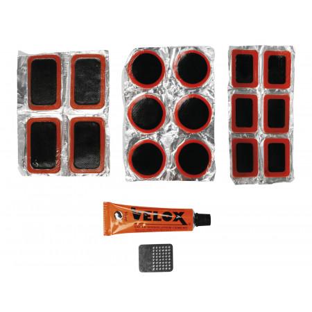 Kit de réparation chambre à air 18 pièces