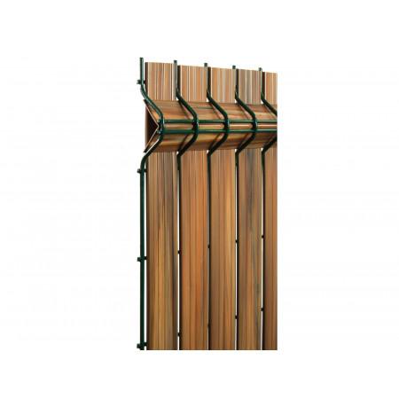 Kit occultant panneau bois clair H 1m