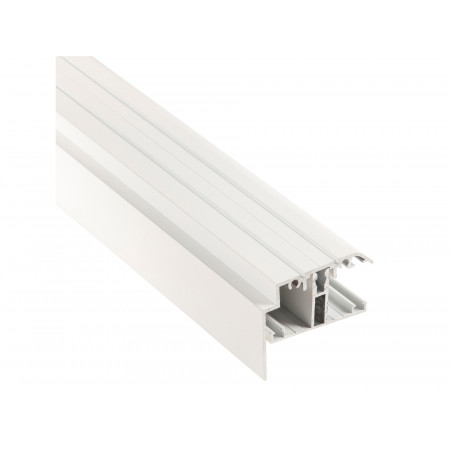 Kit rive profil T + capot blanc L.3m