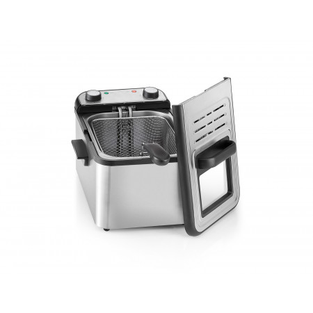 Friteuse professionnelle cuve inox 3000W