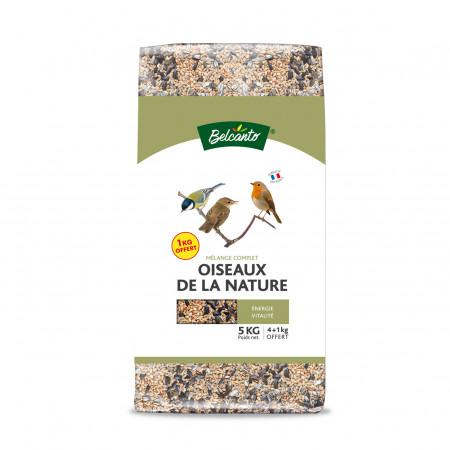 Mélange complet oiseaux de la nature 4kg + 1kg OFFERT