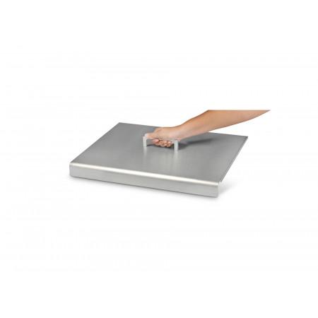 Capot inox pour plancha Krampouz Design simple