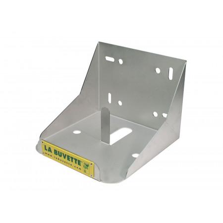 Support inox pour bloc à lécher 25kg