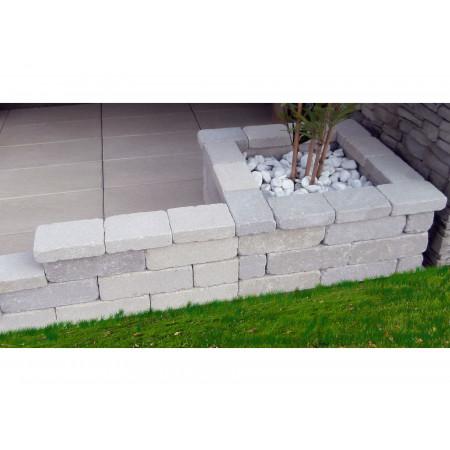 Barrette béton Oldys 30x10x10cm ton pierre