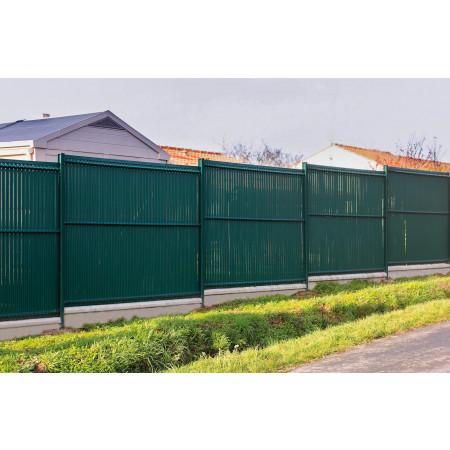 Lamelle occultante PVC 1m vert