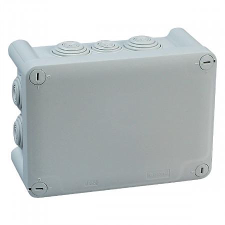 Boîte de dérivation étanche rectangulaire 180X140X86 PLEXO