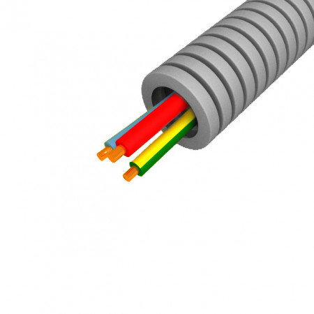 Gaine préfilée ICTA Ø16mm 3X1,5mm² 25m