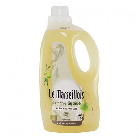 Lessive liquide savon de Marseille 2L
