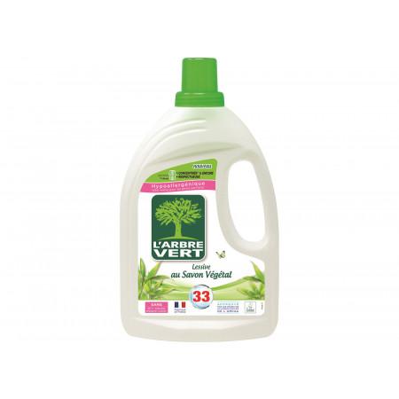 Lessive savon végétal 1,5l L'ARBRE VERT