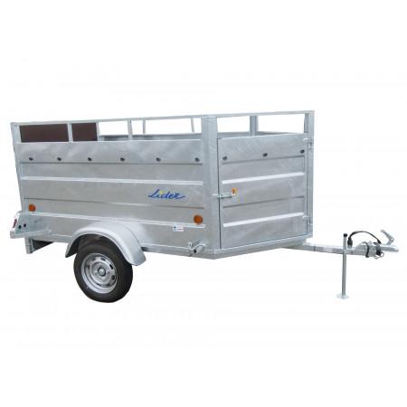 Remorque bétaillère LIDER Robust Granada L.2,50m 500kg