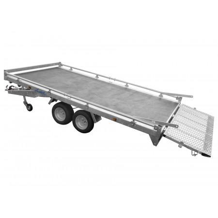 Remorque plateau 2 essieux LIDER L.3,50m 2000kg