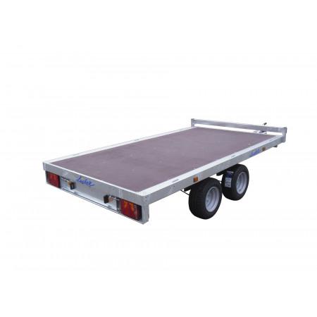 Remorque plateau 2 essieux LIDER L.3m 2500kg