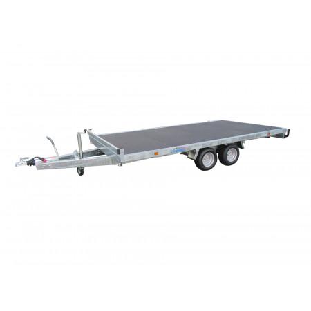 Remorque plateau 2 essieux  LIDER L.4m 2500kg