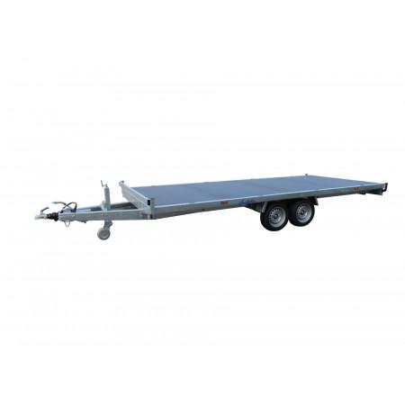 Remorque plateau 2 essieux LIDER L.5m 3500kg