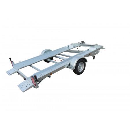 Remorque porte-voiture 3,60m avec treuil et câbles