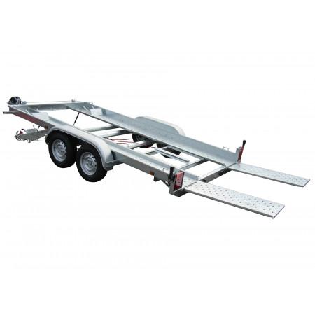Remorque porte-voiture avec rampes 2500kg LIDER