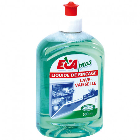 Liquide de rinçage lave-vaisselle 500ml ECA PROS