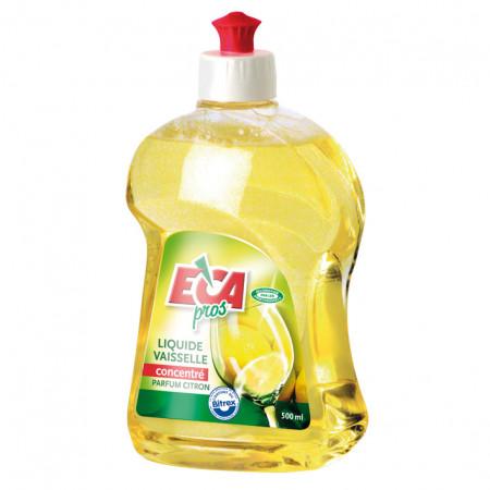 Liquide vaisselle 500ml main jaune ECA PROS