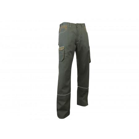 Pantalon de travail Compas Kaki/havane