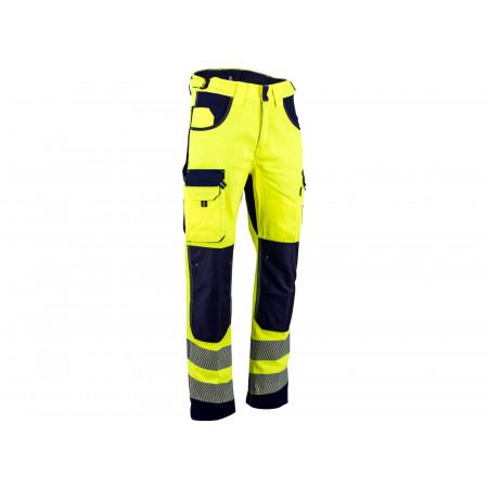 Pantalon Défense haute visibilité jaune bleu