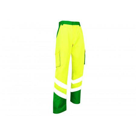 Pantalon haute visibilité jaune fluo vert