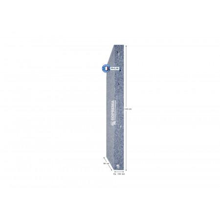 Lot de 6 panneaux isolants ép. 100 mm Pavatextil©