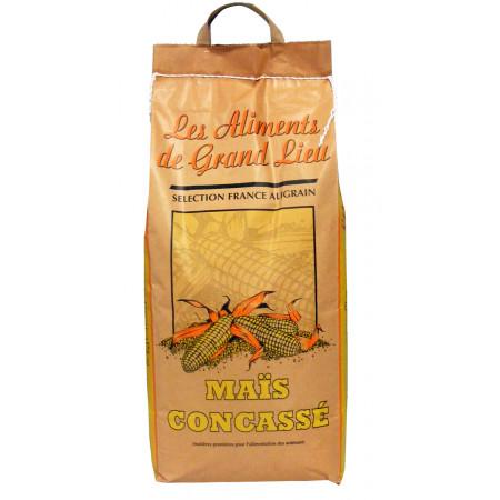 Maïs concassé Les Aliments de Grand Lieu 8kg