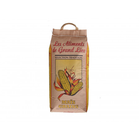 Maïs grains Les Aliments de Grand Lieu 10kg