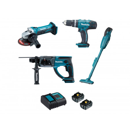 Lot de 4 machines 18V MAKITA