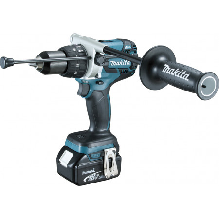 Perceuse à percussion sans fil 18V 2x5Ah MAKITA DHP481RTJ