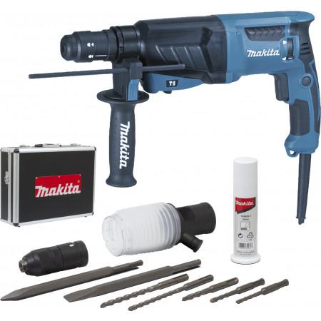 Perforateur burineur SDS+ 800W et accessoires MAKITA