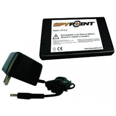 Batterie rechargeable au lithium et chargeur SPYPOINT