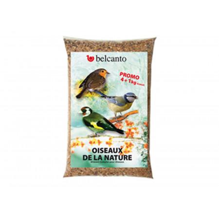 Mélange graines oiseau 4kg + 1kg