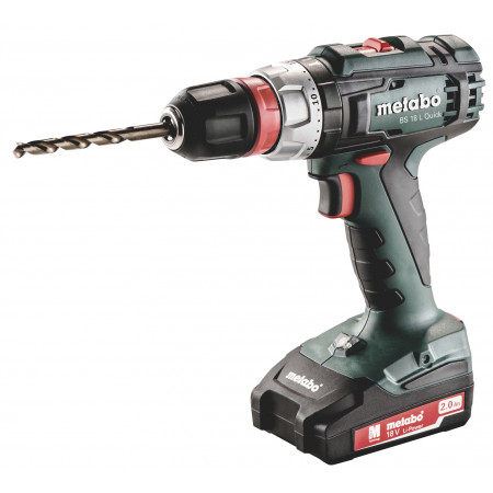 Perceuse visseuse sans fil 18V 2Ah METABO BS18L QUICK