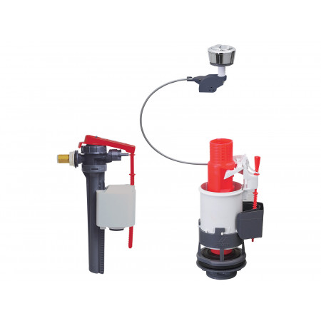 MW2 + JOLLYFILL mécanisme WC double chasse à câble