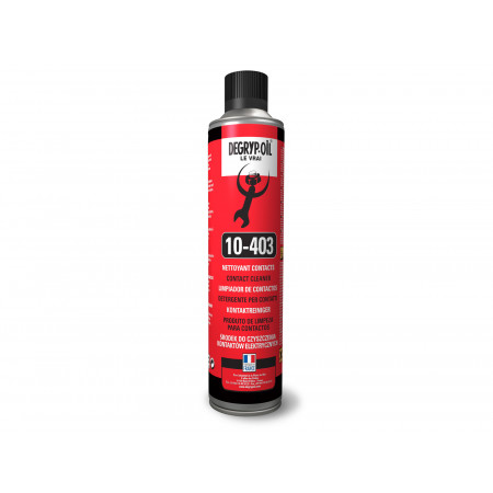 Nettoyant contacts aérosol 520 ml