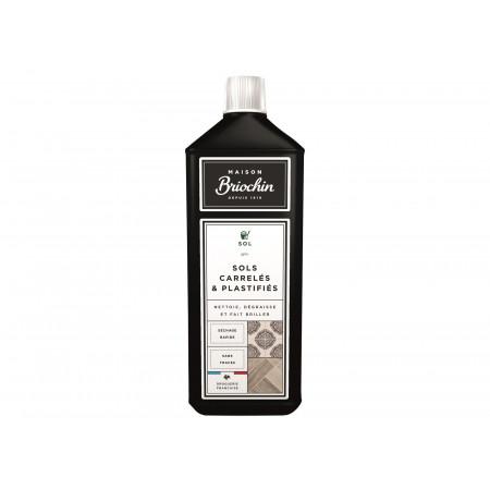 Nettoyant sols carrelés et plastifiés 1L MAISON BRIOCHIN