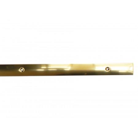 Barre de seuil laiton percé 30x830mm