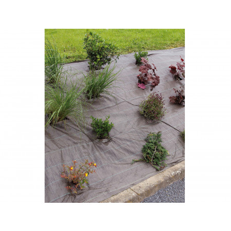 Toile de paillage WEEDSOL 2,10x25m marron
