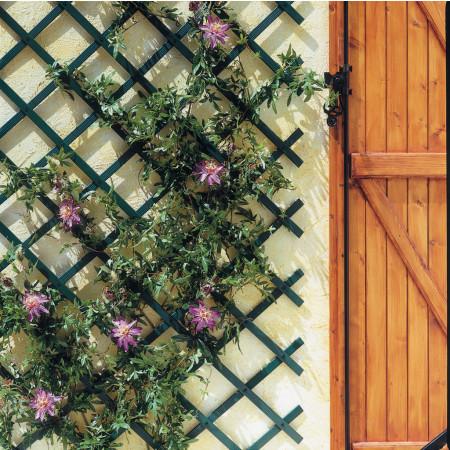 Treillis PVC Treilliflex 0,50 x 1,50 m vert