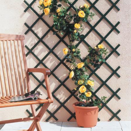 Treillis PVC Treilliflex 1 x 2 m vert