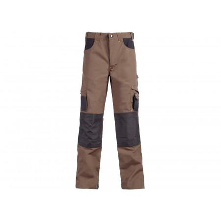 Pantalon de travail Adam brun/anthracite