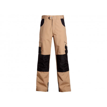 Pantalon de travail NORTH WAYS Adam Beige/Noir