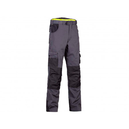 Pantalon de travail NORTH WAYS Adam Gris/Noir