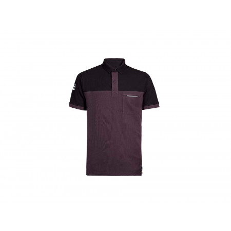 Polo homme NORTH WAYS Carson Gris/noir