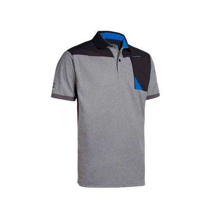 Polo homme NORTH WAYS Horten noir/gris