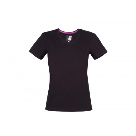 T-shirt femme NORTHWAYS Romane noir